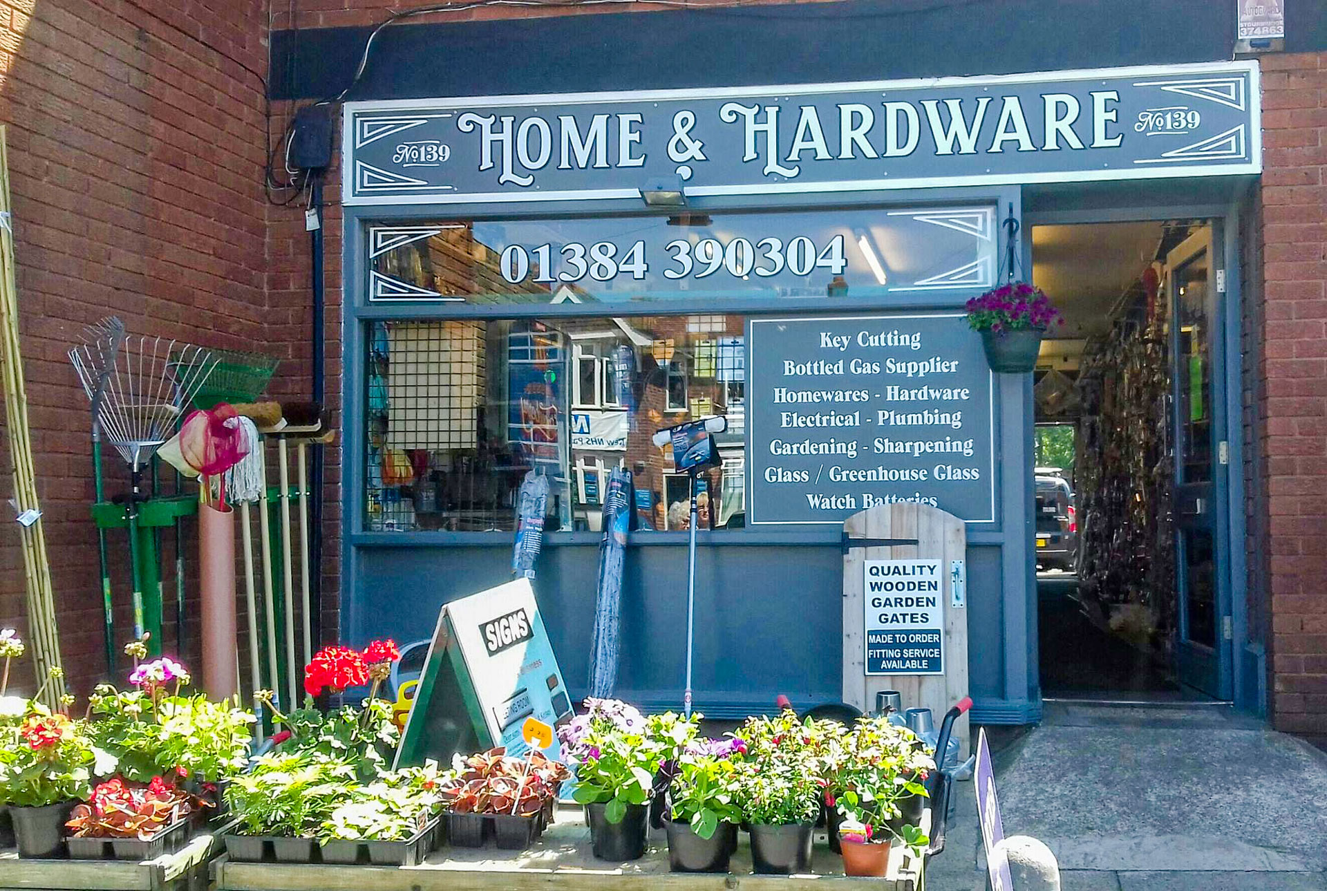 Home and Hardware Shop Front